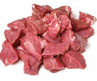 Heart Smart Diced Angus Beef